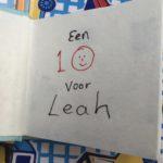 Een 10 voor Leah